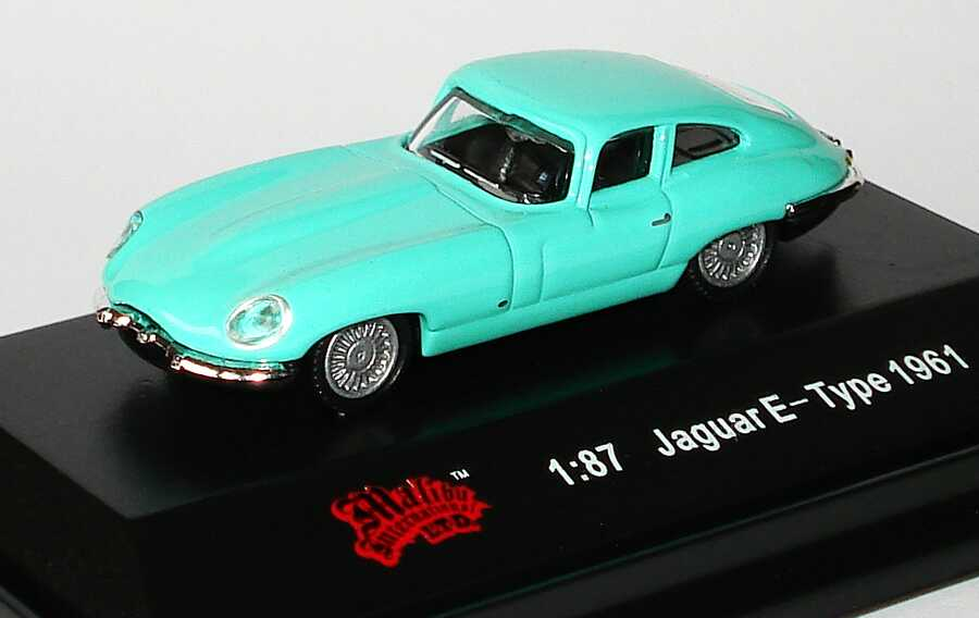 Foto 1:87 Jaguar E-Type mintgrün Malibu International 00100