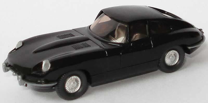 Foto 1:87 Jaguar E-Type schwarz Wiking 022