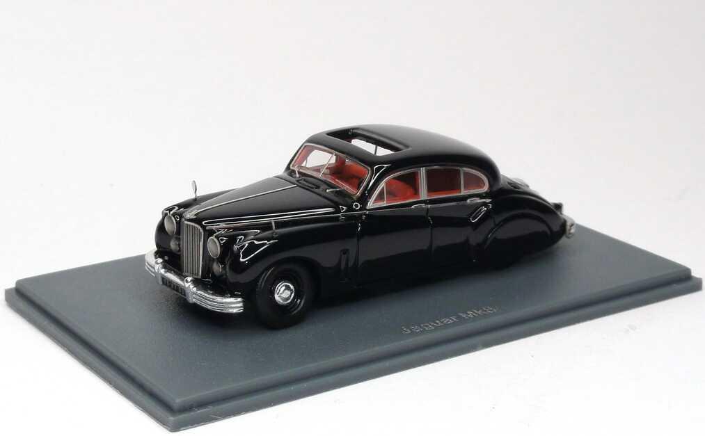 Foto 1:87 Jaguar MK 7 schwarz NEO Scale Models 87205