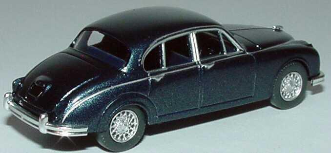 Foto 1:87 Jaguar MK II dunkelblau-met. Wiking 81303