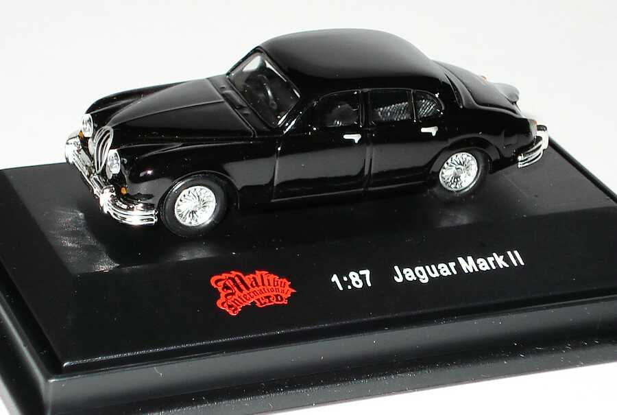 Foto 1:87 Jaguar MK II schwarz Malibu International 116