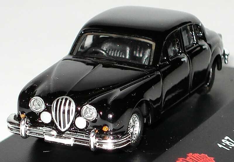 Foto 1:87 Jaguar MK II schwarz Malibu International 116