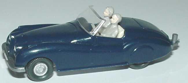 Foto 1:87 Jaguar Sport dunkelblau (mit Figuren und Zughaken) Wiking 020