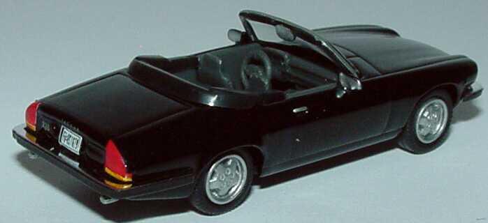 Foto 1:87 Jaguar XJS Cabrio schwarz Schuco 21930