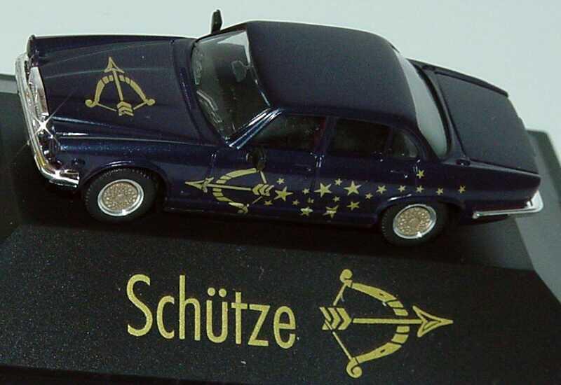 Foto 1:87 Jaguar XJ 12 Sternzeichen Schütze - Astro Collection - herpa 100861