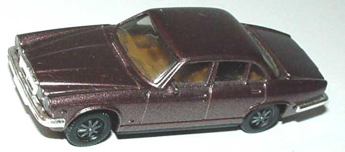 Foto 1:87 Jaguar XJ 12 graubraun-met. (alte Speichenräder) herpa 3020