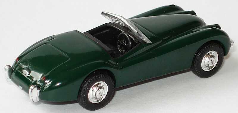 Foto 1:87 Jaguar XK 120 racinggreen Malibu International 00100