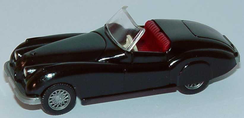 Foto 1:87 Jaguar XK 120 schwarz Wiking 80101