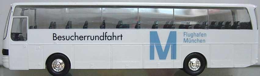 Foto 1:87 Kässbohrer-Setra S 215 HD Flughafen München Besucherrundfahrt herpa