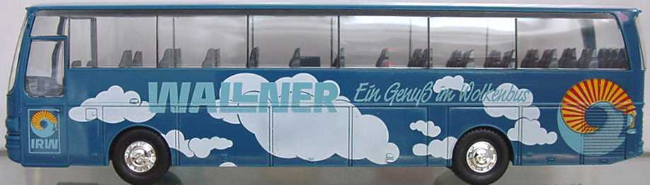 Foto 1:87 Kässbohrer-Setra S 215 HD Wallner herpa