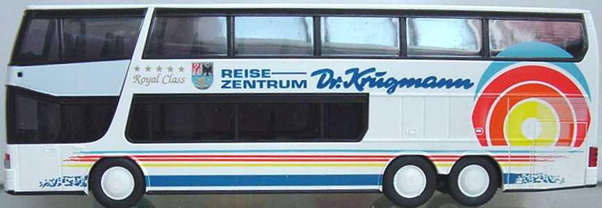 Foto 1:87 Kässbohrer-Setra S 328 DT Dr. Krugmann Rietze