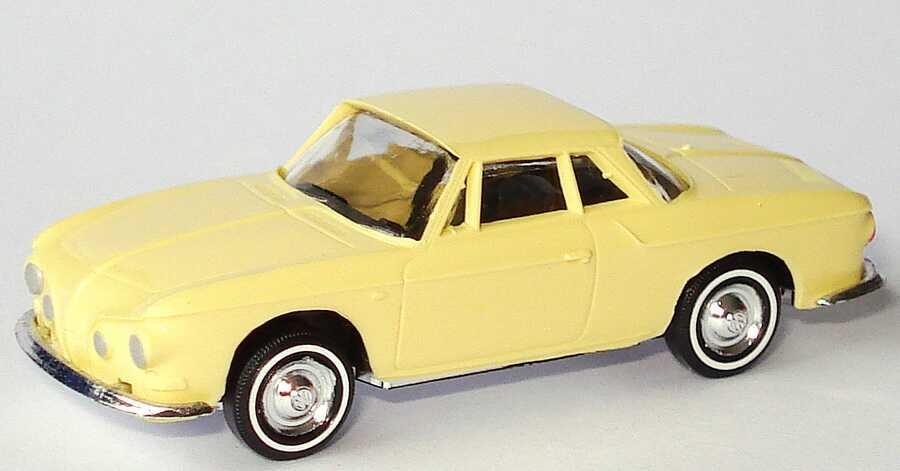 Foto 1:87 Karmann Ghia 1600 Coupé blaßgelb Busch 45813