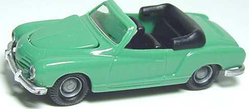 Foto 1:87 Karmann Ghia Cabrio patinagrün I.M.U. 01201