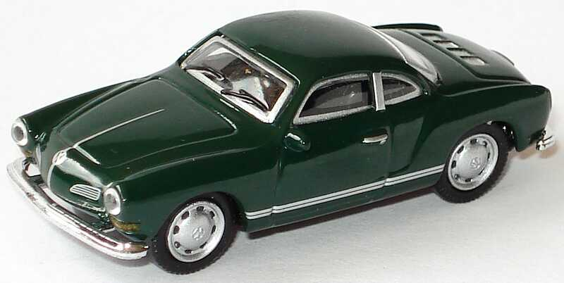 Foto 1:87 Karmann Ghia Coupé dunkelgrün Malibu International 109