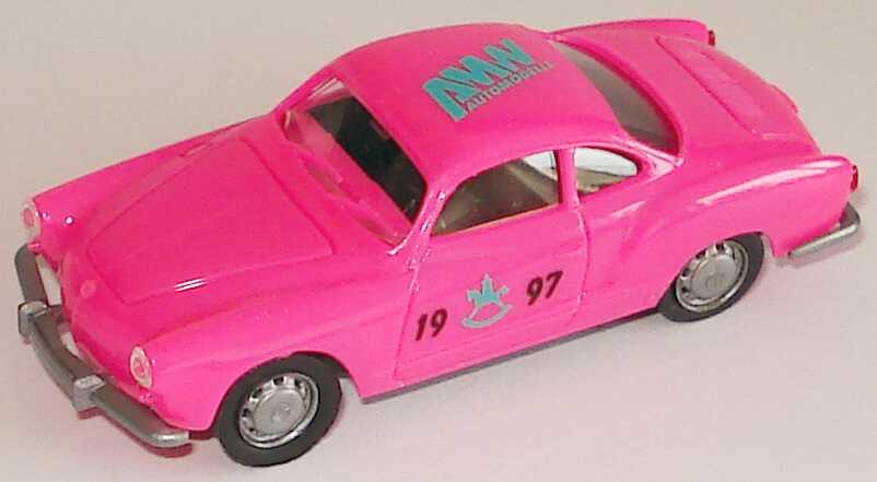 Foto 1:87 Karmann Ghia Coupé pink Spielwarenmesse 1997 AMW/AWM