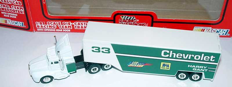 Foto 1:87 Kenworth T600 Sleeper RenntransportSzg 3/2 Chevrolet No.33, Harry Grant Racing Champions 03100