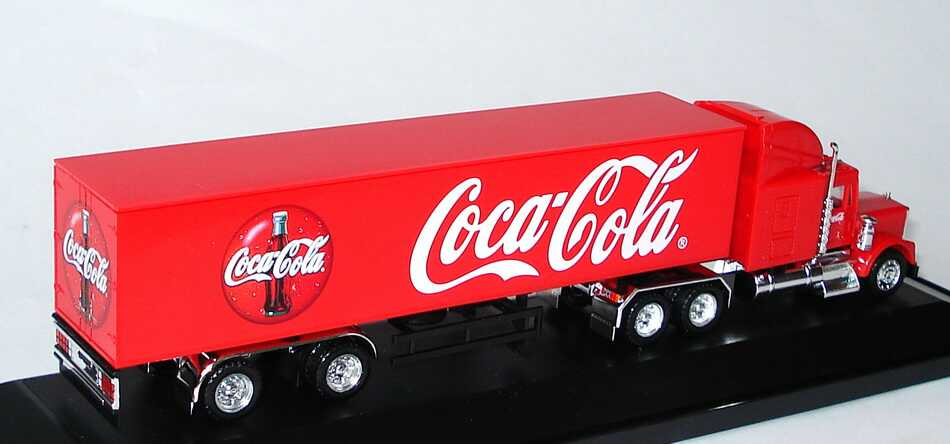 Foto 1:87 Kenworth W900B KoSzg 3/2 Coca-Cola herpa 259682/LC21019