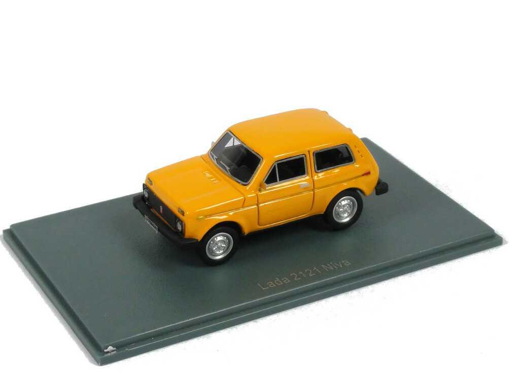 Foto 1:87 Lada Niva 2121 orange NEO Scale Models 87256