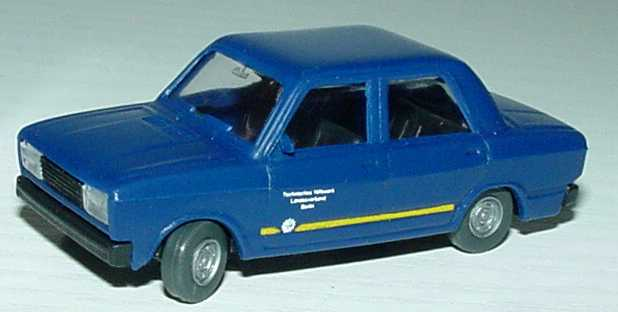 Foto 1:87 Lada Nova 2105 THW Landesverband Berlin SES Automodelle