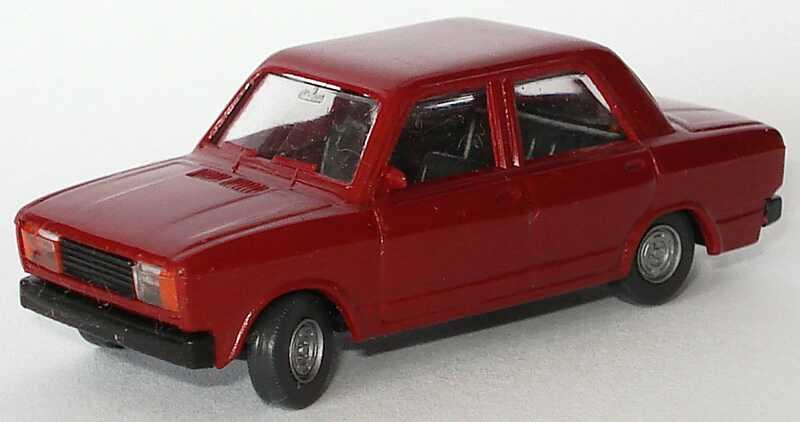 Foto 1:87 Lada Nova 2105 weinrot SES Automodelle 13000080