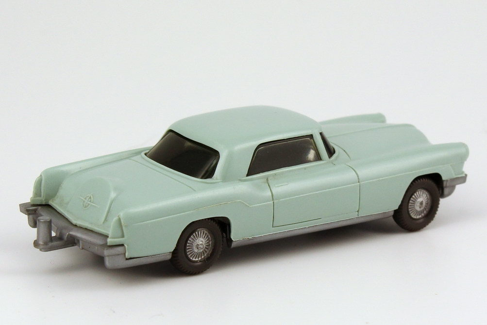 Foto 1:87 Continental Mark II 1956 licht-grün, ohne Inneneinrichtung Wiking 210