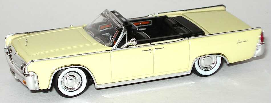 Foto 1:87 Lincoln Continental Convertible (1963) hellbeige Ricko 38822