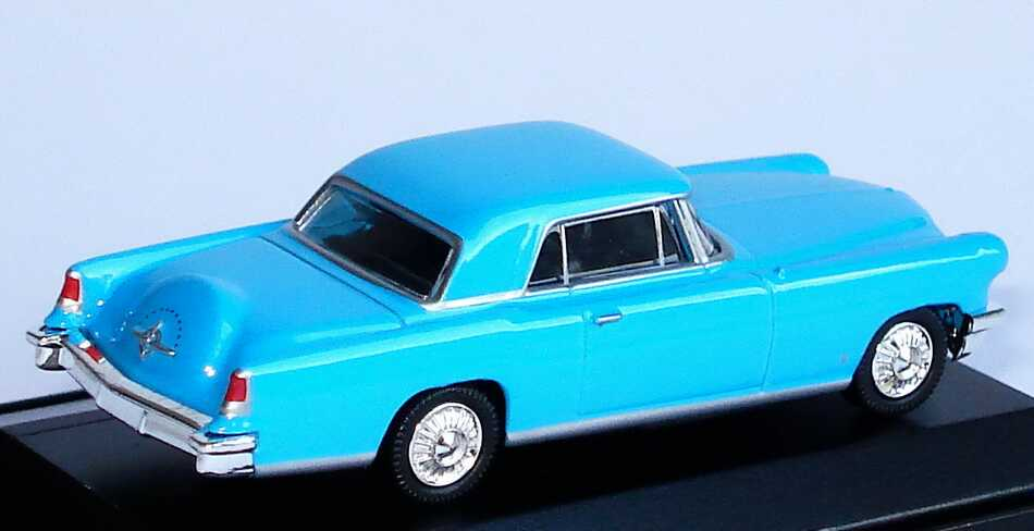 Foto 1:87 Lincoln Continental Mark II Coupé (1956) himmelblau Model Power 19483