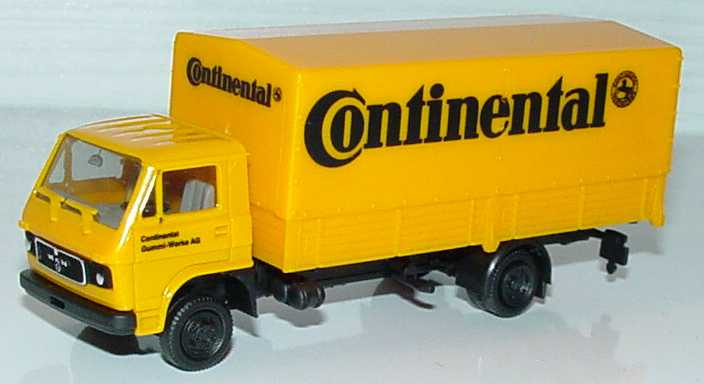 Foto 1:87 MAN-VW 2a PP-LKW Continental herpa