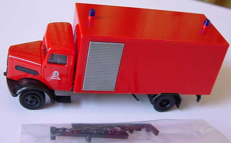 Foto 1:87 MAN 750L Feuerwehr-Gerätewagen herpa 042833
