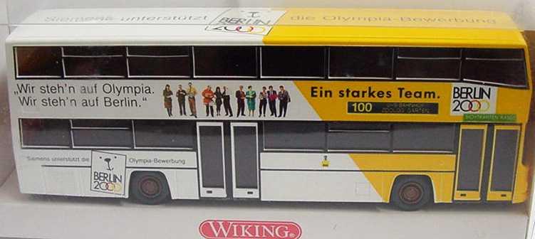 Foto 1:87 MAN D 89 Berlin 2000, Siemens Wiking 7310140