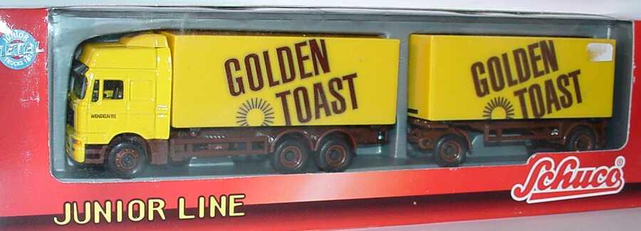 Foto 1:87 MAN F2000 Evo Hochdach Fv WKoHgz 3/2 Golden Toast Schuco 26901