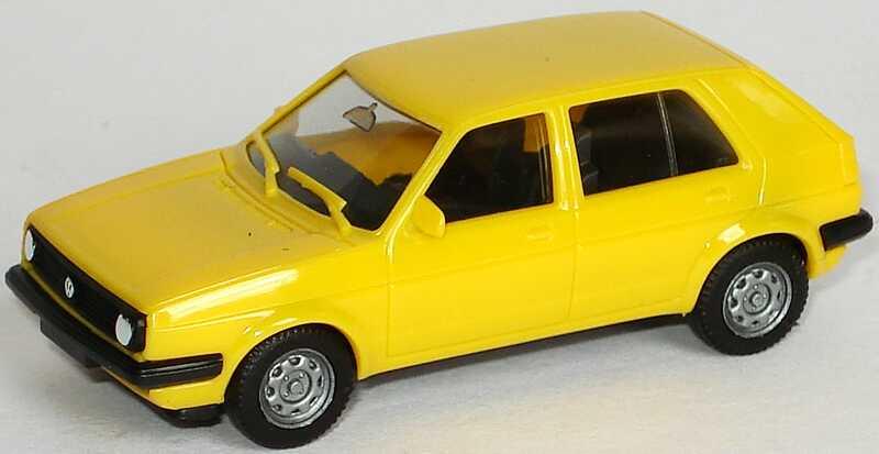 Foto 1:87 MAN F90 (K) AutotransportHgz 2/2 Wir fahren für VW. (beladen mit 4 VW Golf II Facelift und 4 VW Corrado in Sonderfarben) herpa