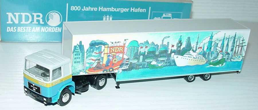 Foto 1:87 MAN JuKoSzg 2/2 NDR, 800 Jahre Hamburger Hafen Albedo