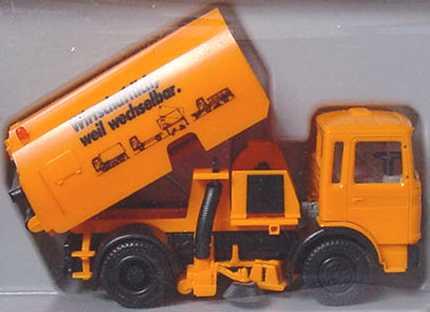 Foto 1:87 MAN (K) 2a Kehrfahrzeug Wirtschaftlich, weil wechselbar herpa 811499