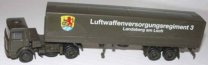 Foto 1:87 MAN (K) PPSzg 2/2 Luftwaffenversorgungsregiment 3 - Landsberg am Lech herpa