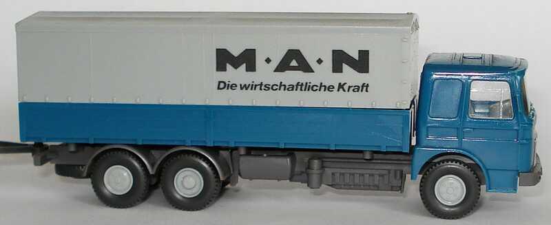Foto 1:87 MAN PPHgz 3/2 MAN - Die witschaftliche Kraft Wiking 473