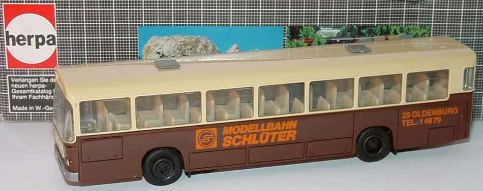 Foto 1:87 MAN SÜ 240 Modellbahn Schlüter, Oldenburg herpa