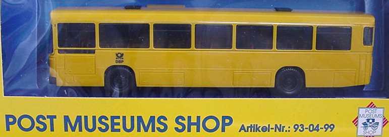 Foto 1:87 MAN SÜ 240 gelb DBP PMS-Sondermodell herpa