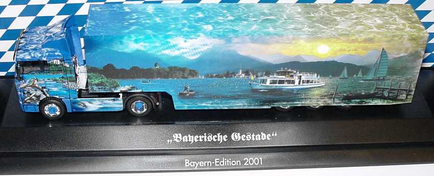 Foto 1:87 MAN TG-A XL Fv Cv KoSzg Cv 2/3 Bayerische Gestade Bayern-Edition 2001 herpa 256902