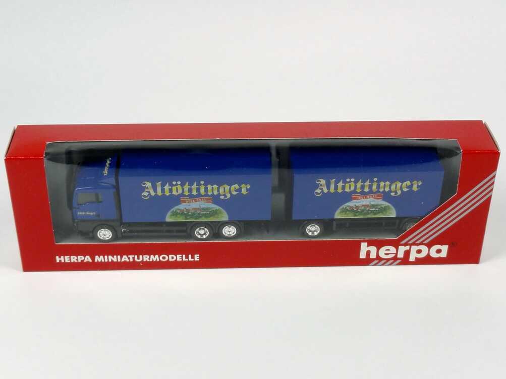 Foto 1:87 MAN TG-A XL GetränkeKoHgz 3/2 Altöttinger herpa 147736