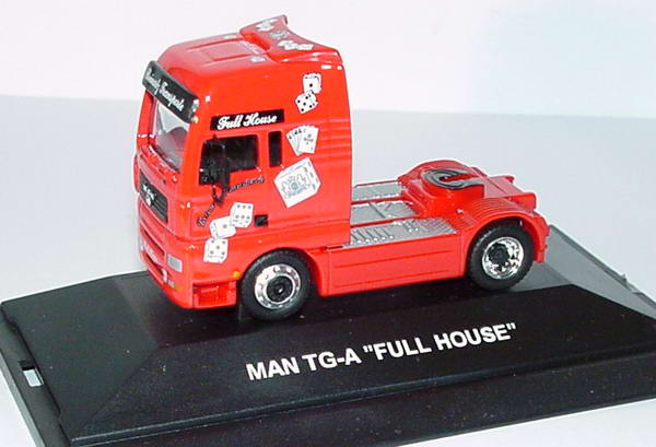 Foto 1:87 MAN TG-A XXL Fv Cv 2a Szgm Reinartz Transporte, Full House Schuco 22611