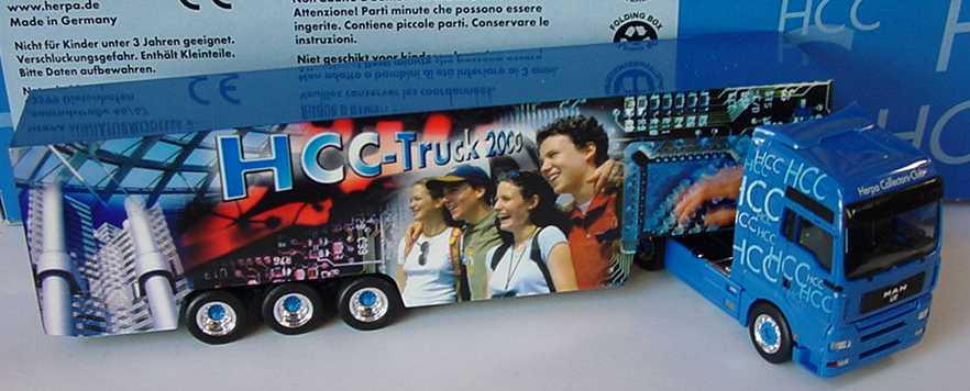 Foto 1:87 MAN TG-A XXL Fv Cv KoSzg Cv 2/3 HCC-Truck 2000 herpa 196598