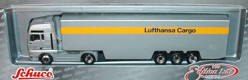 Foto 1:87 MAN TG-A XXL Fv Cv KoSzg Cv 2/3 Lufthansa Cargo Schuco 22651