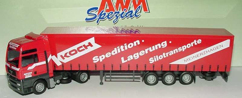 Foto 1:87 MAN TG-A XXL Fv GpSzg 2/3 Koch Spedition Meinerzhagen AMW/AWM 51261.1