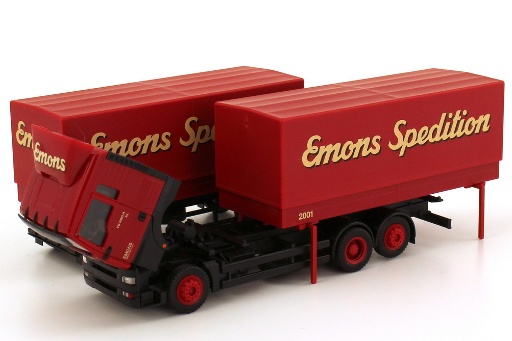 Foto 1:87 MAN TG-A XL WPP-Hgz 3/2 Emons Spedition herpa 146326