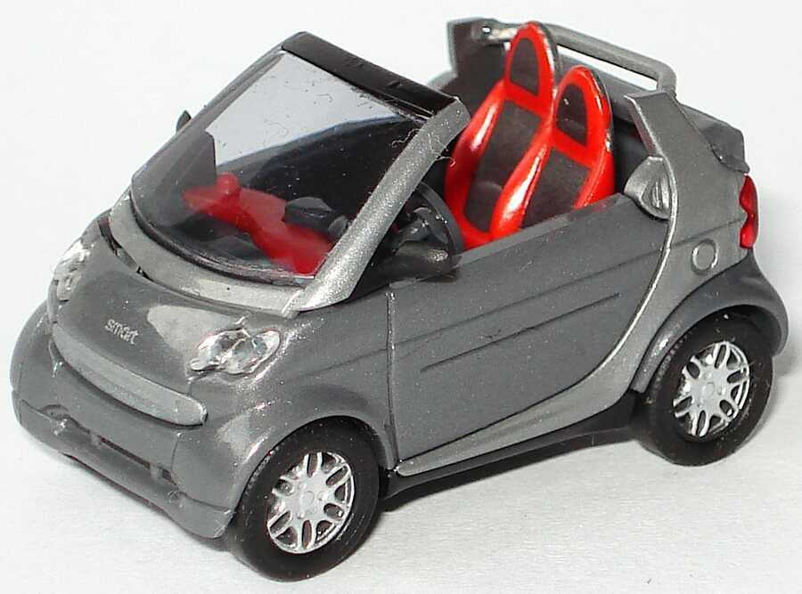 Foto 1:87 MCC Smart Cabrio bay-greymet./silber-met. Busch