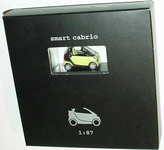 Foto 1:87 MCC Smart Cabrio stream green/schwarz Werbemodell Busch 0012446V001C49Q00
