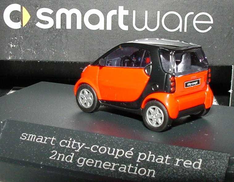 Foto 1:87 MCC Smart City-Coupé (2nd generation) phat-red Werbemodell Busch 0012498V002C36Q00