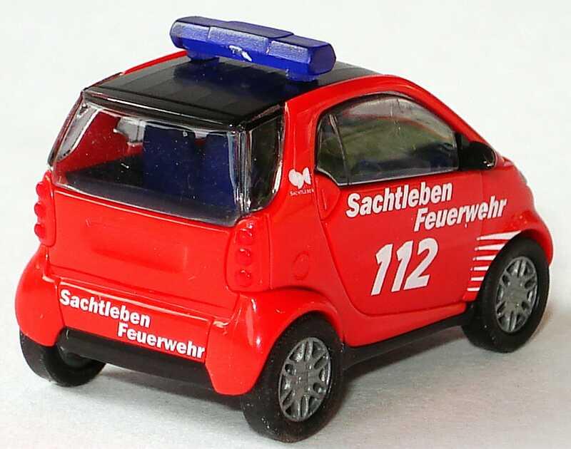 Busch 48905 Smart City Coupé Feuerwehr Sachtleben Chemie Duisburg OVP 1//87 H0