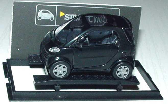 Foto 1:87 MCC Smart City-Coupé schwarz/schwarz Werbemodell Busch 0013097V001000000